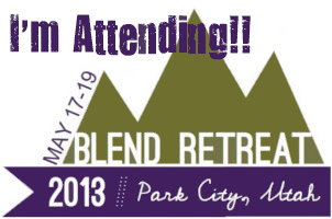 I'm attending Blend Retreat 2013.